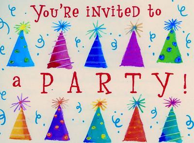 Party Invite to Cash's Birth