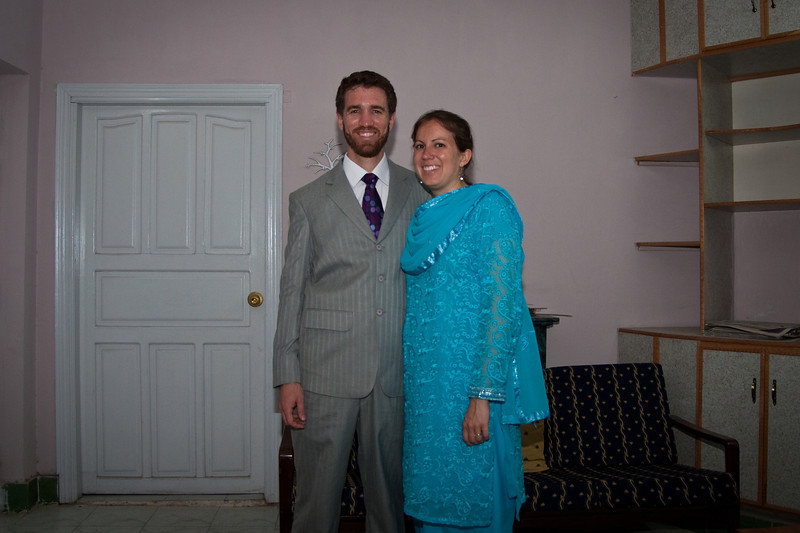 """Day 3 of the wedding. I had my suit made here in Pindi for about $40 and I really like it. This was actually the first time I had ever worn """"western"""" clothes  in Pakistan in the 14 months we've been here."""