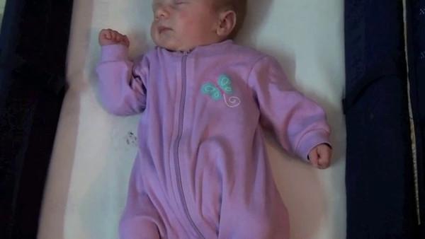 Sienna at 4 weeks old.