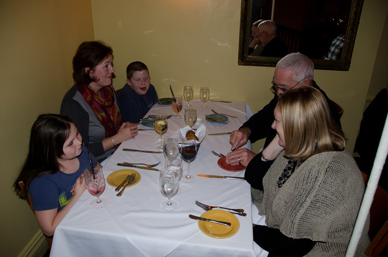 11.24.2011 - Our family trip to New York City over Thanksgiving.  Thanksgiving dinner at Bobby Flay's Mesa Grill.