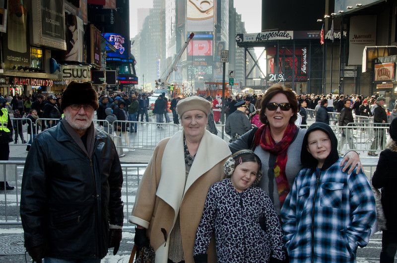 11.24.2011 - Our family trip to New York City over Thanksgiving.