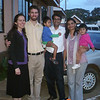 Erin and me with Hash and Deepa Gudka and their kids, 2011