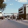 Downtown Nakuru; not sure when this picture was taken, but I think it's from the early '90s. Remember the one traffic light in town, which never worked?