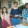 Left to right: Kirti Vora, Vijay Vora, and Hash Gudka, sometime 1999-2002 I think?
