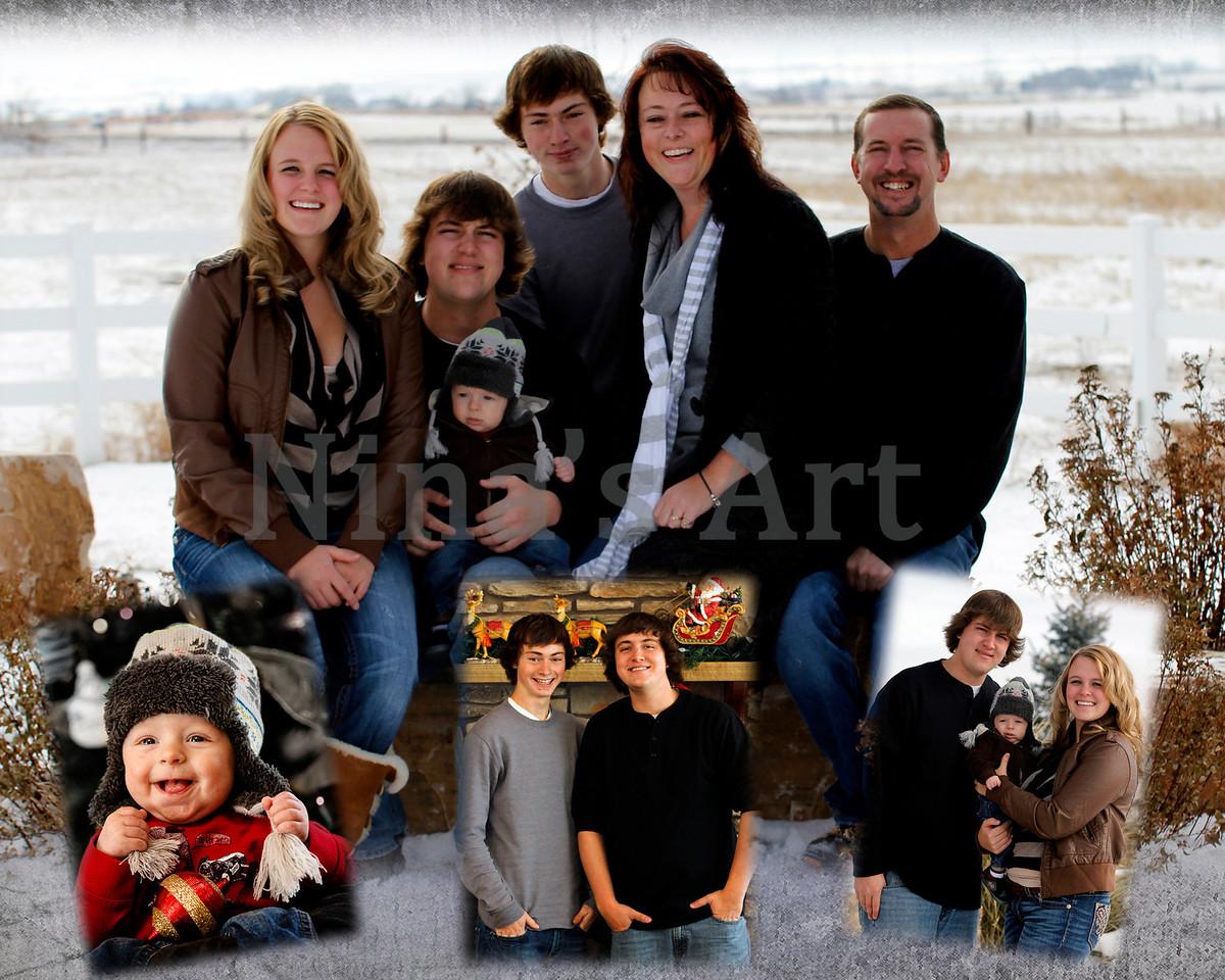 z collage 8x10 weber family
