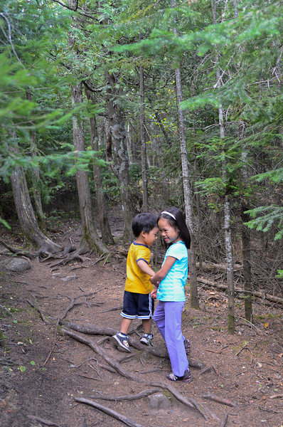 Hiking, Lutsen Mountain, MN