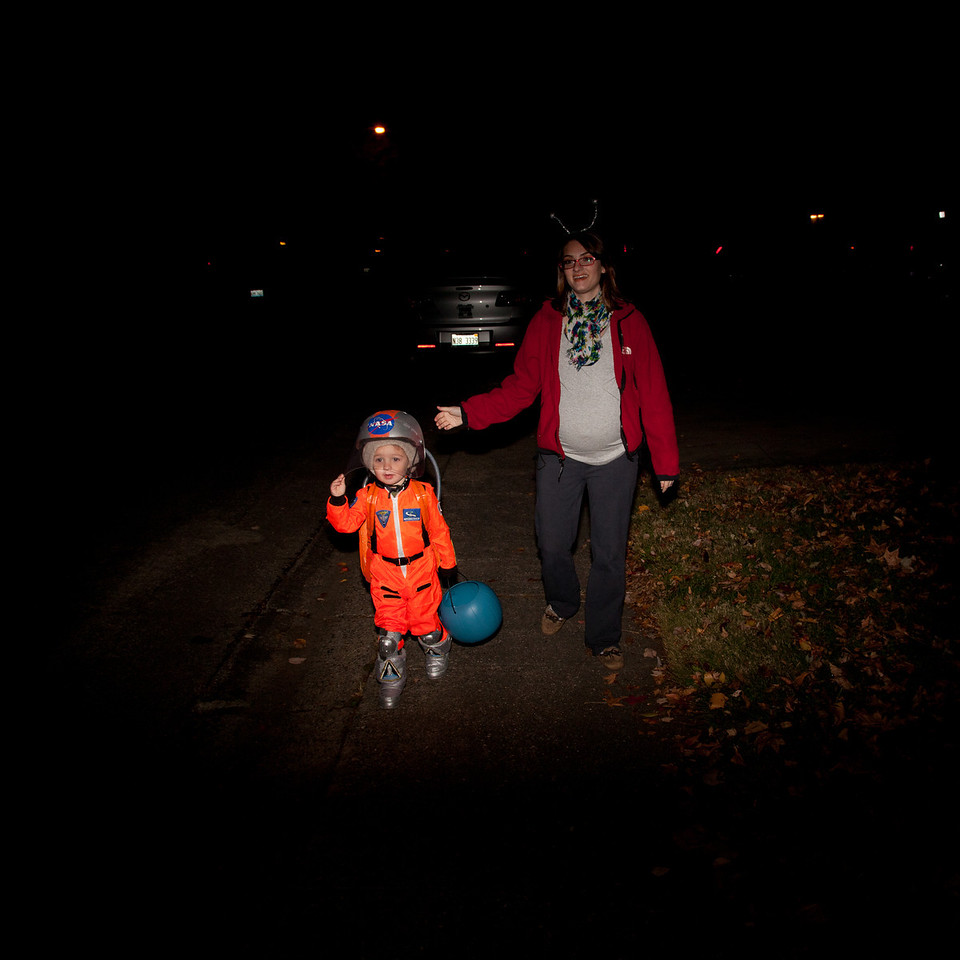 Halloween on October 31, 2011. (Jay Grabiec)