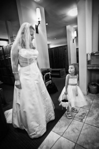Teeg day 2 -- first wedding --  Jade was the flower girl for our friends Rolf and Megan