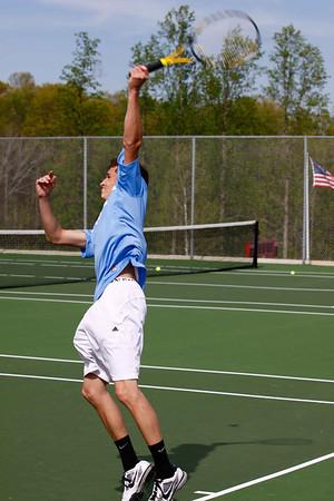 2011 April - Trinity vs Wheatmore Tennis Match