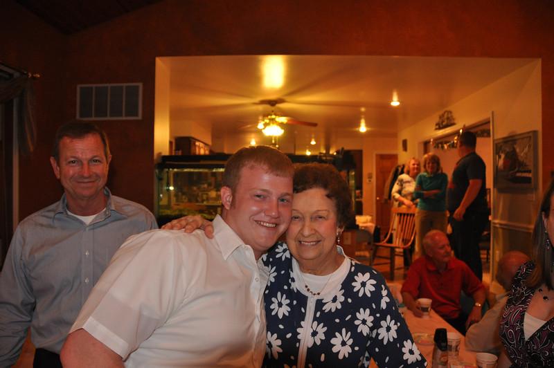 Kyle & Grandma at Easter.