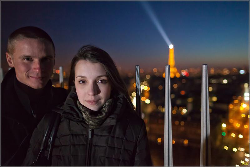 2012-01-15 Alex & Chris In Paris (with Leï)