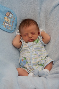 Baby Griffin sleeping...so cute!