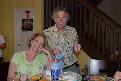 Marilyn and Larry are ready to eat!