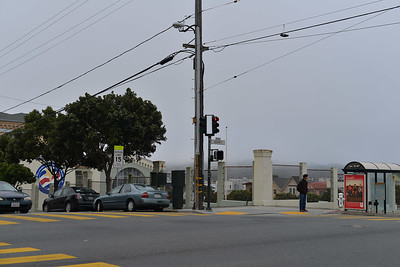 Intersection of Presidio Middle School
