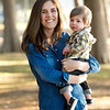 Halie and Eric Overton with their 1-year-old son Calvin on Saturday, November 17, 20123 at Bachman Lake in Dallas.
