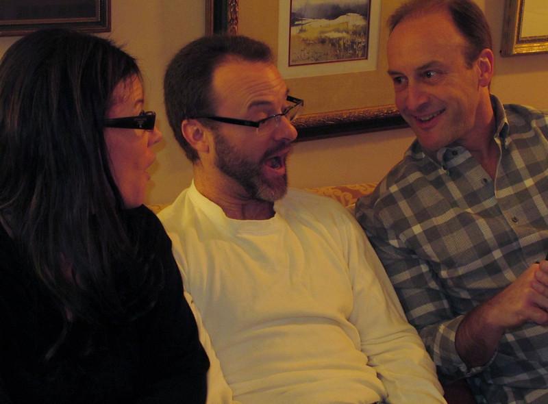 Uncle Mitch is amusing Teri & Seth