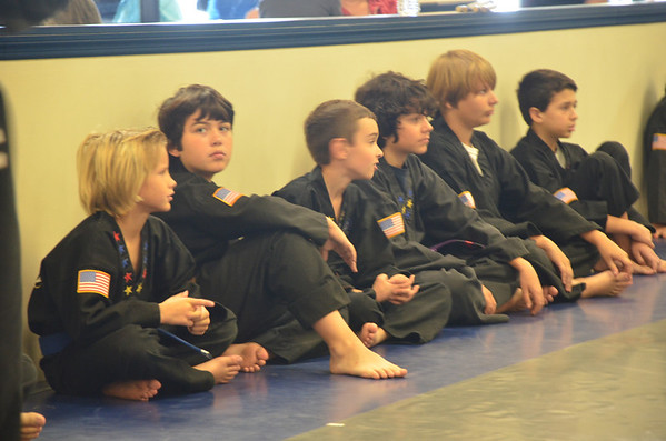 2012-13-15 MMA Red Belt Graduation
