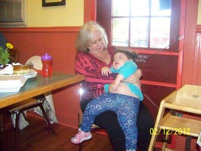 Izabella Cordero and her Grandmother, Susan (Bruce) Macomber