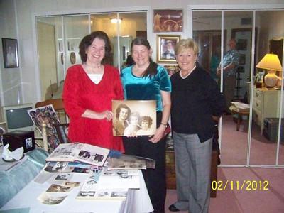 Gertie Thomas Henson, Betty  Thomas Dunagin, Eloise Thomas Bonney