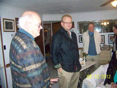 Bruce Macomber, his son Russell and Mike Macomber