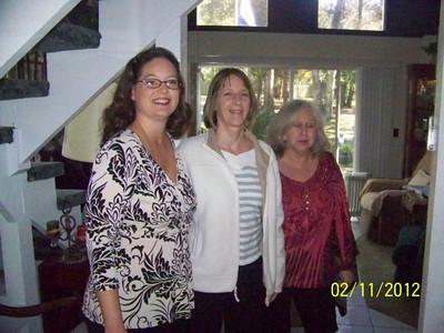 Nancy Scott, Kathy Thomas, Susan (Bruce) Macomber