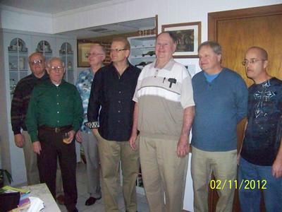 Bruce Macomber, Percy Dunagin, Claude Thomas, Russell Macomber, Gorton Thomas, Mike Macomber, Jon Henson