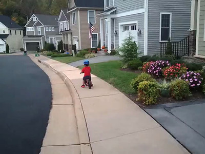 Finally Got The Hang Of This Balance Bike (9/28)