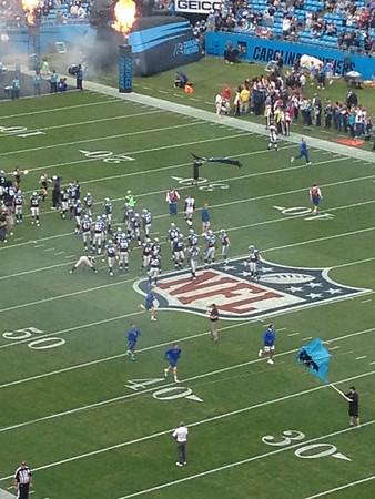 2012 December - Panthers Game