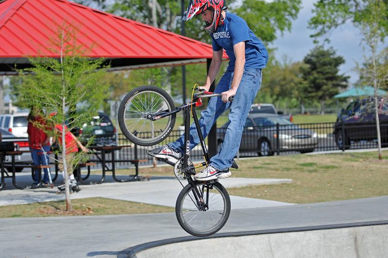 BREC BMX Bike & Skate Park, March 2011