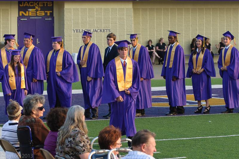 2013 , Clayton Senior Graduation