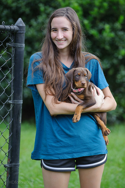 Jane Dog 7 Weeks Old-May 29, 2017