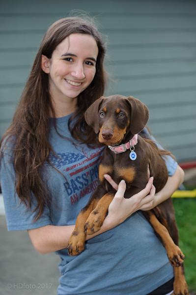 Jane Dog 9 Weeks old
