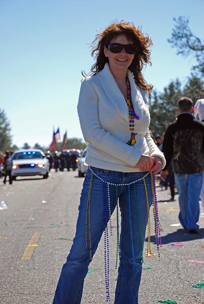 Staci @ Mardi Gras Thibodeax Feb 2009