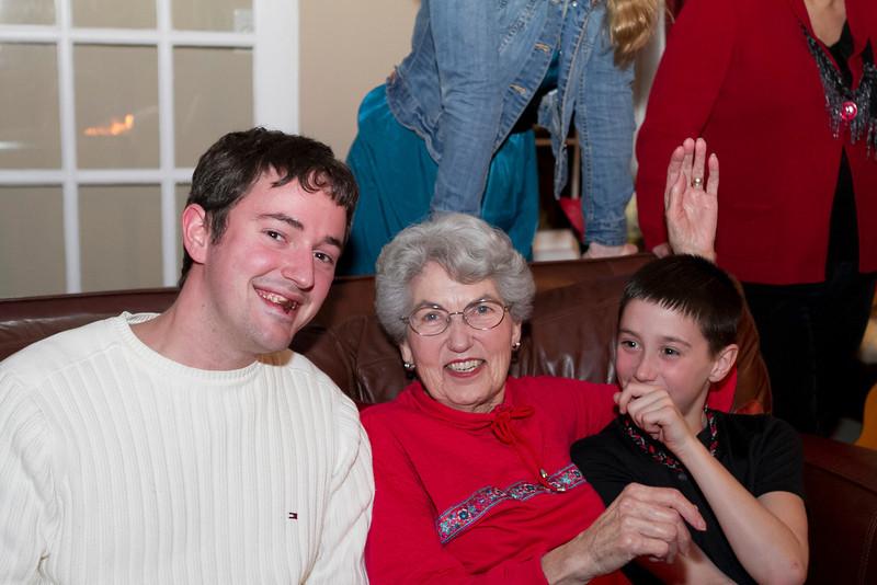 Alex, Mary, Mitch