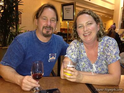 2012 (July 7-8) Megan & Family visit LA