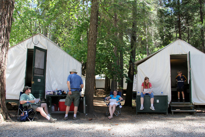 Curry Village -  Yosemite Valley.  We stayed in tent cabins