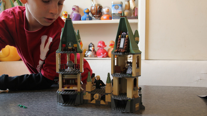 Harry Potter battle - Lego