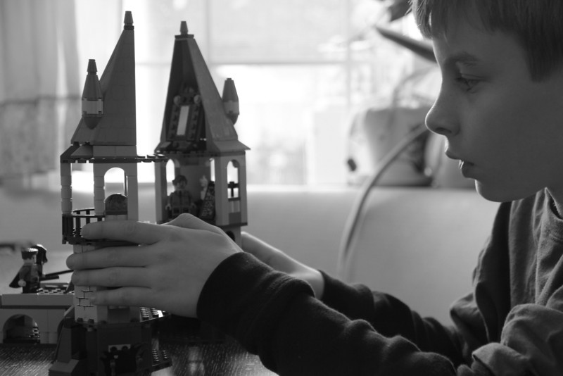 Visionary Building - Lego - Dreams Built Harry Potter Style