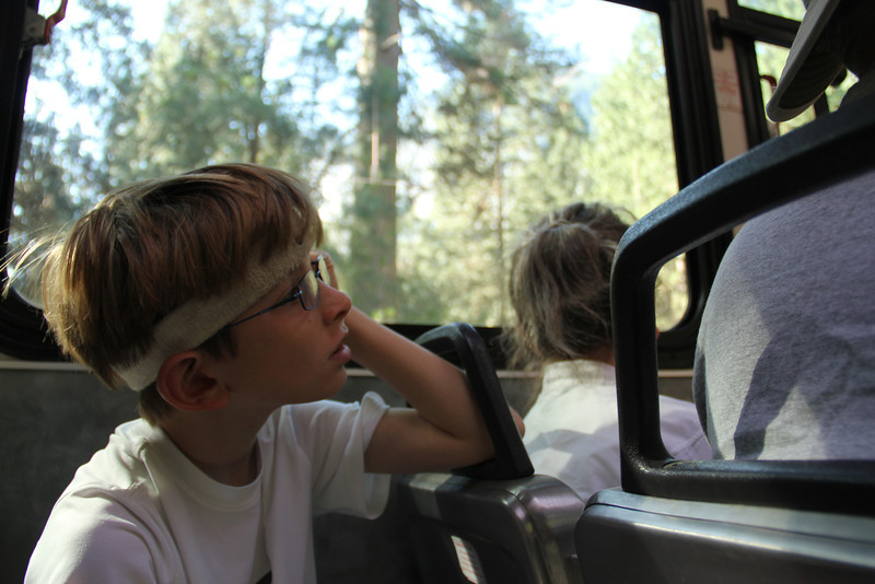 On the Bus - Yosemite