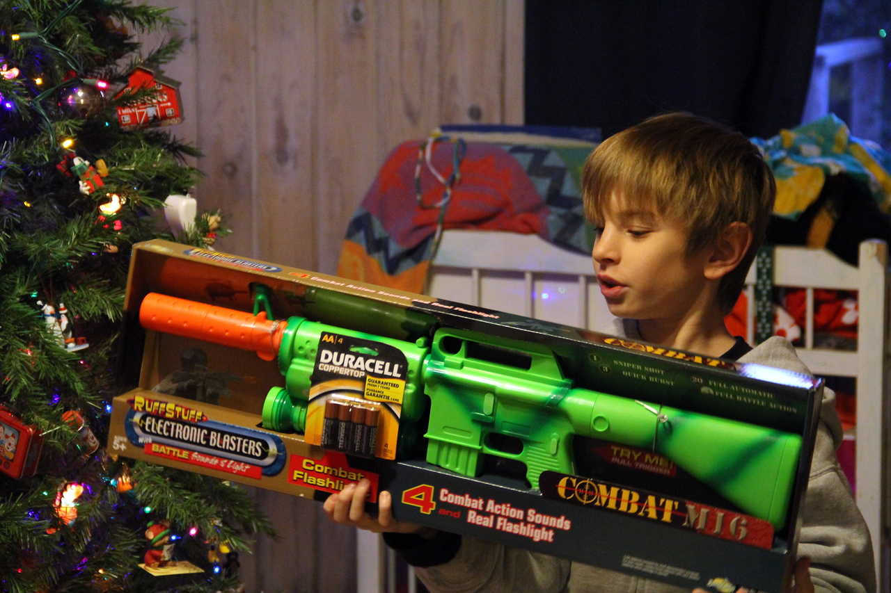 Combat Christmas ==  For the love peace?