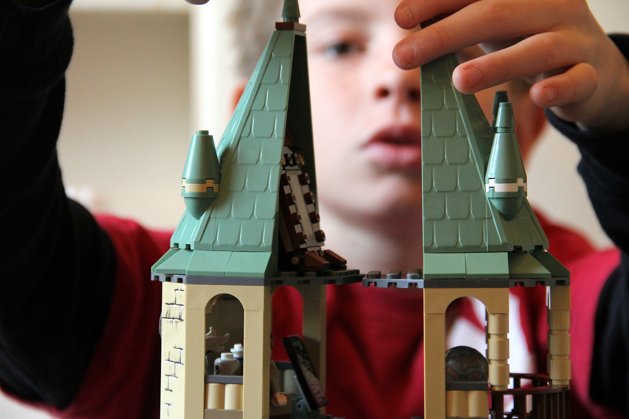 Little Hands At Play -  Lego - Harry Potter.  Just a liitle more time.