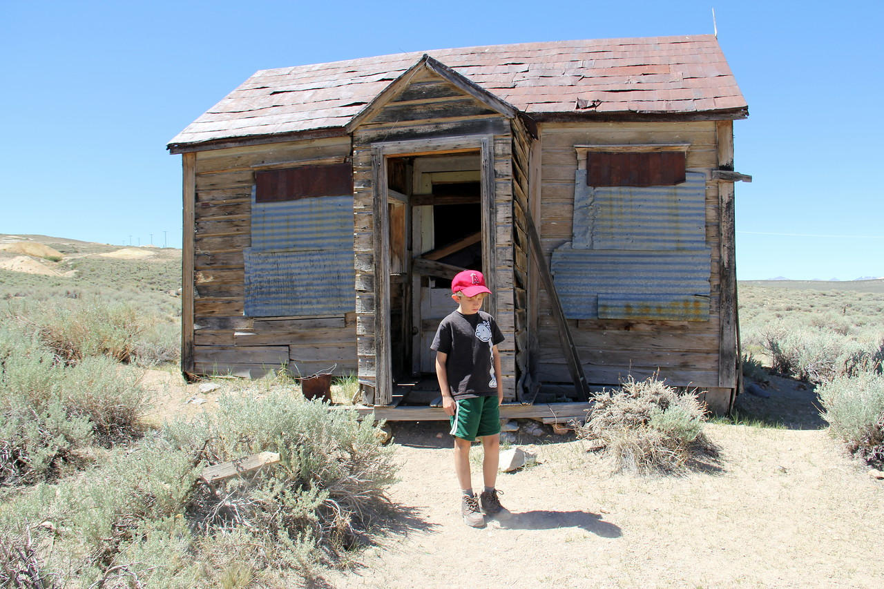 Far away on the range.  Bodie Ghost Town