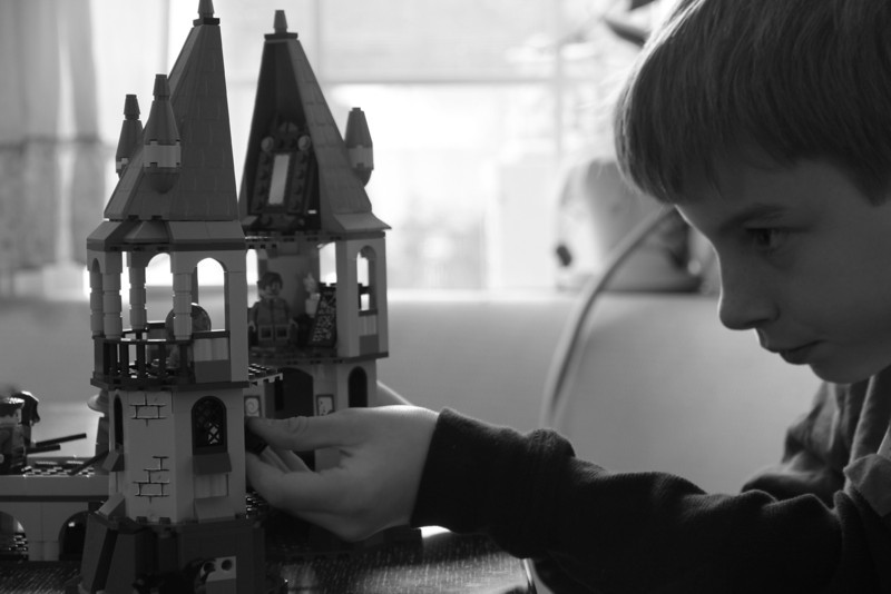 At Play.  At Work.  Lego.  The Harry Potter story grows.