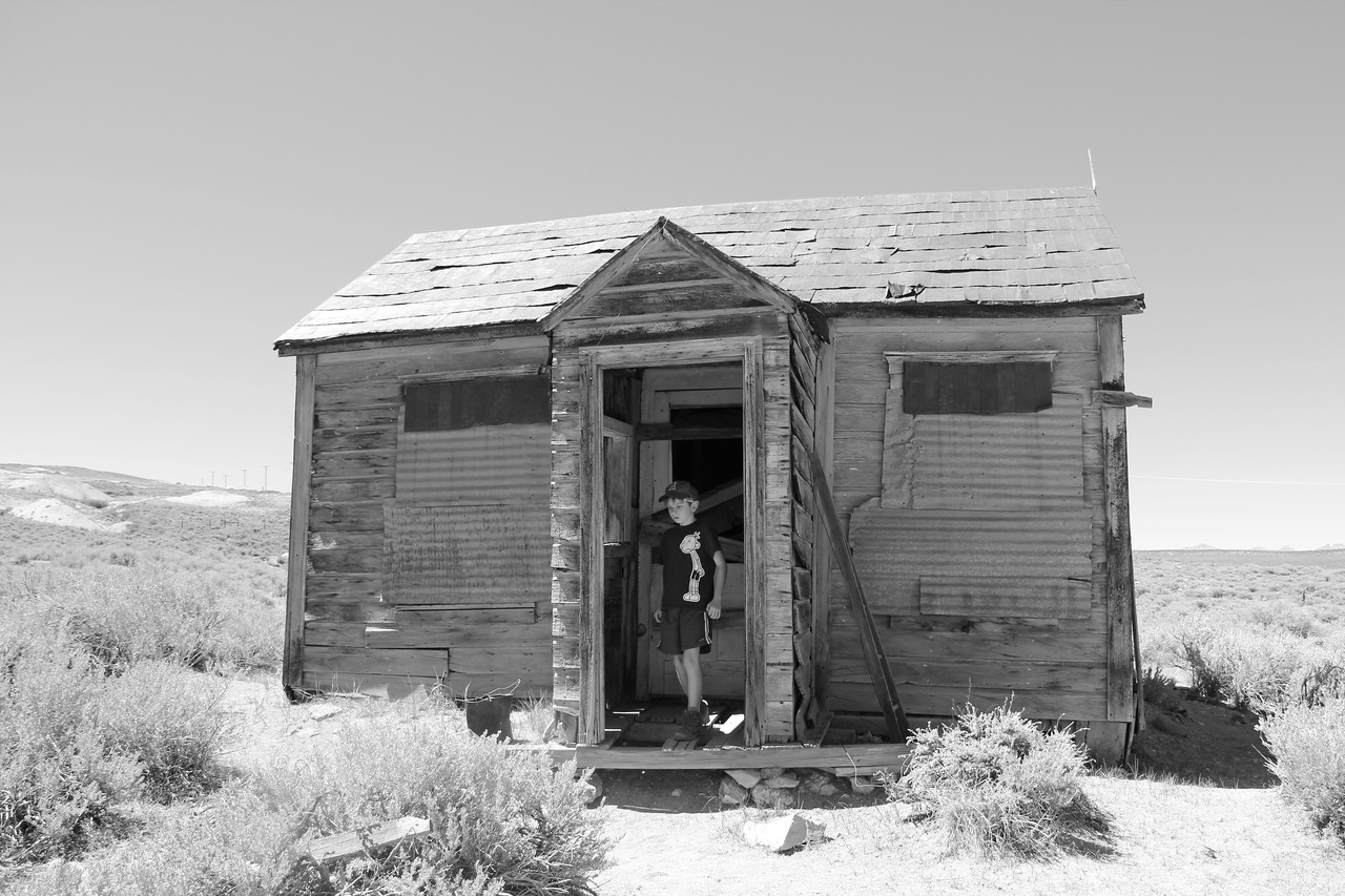 The Planks are Short.  - Bodie Ghost Town
