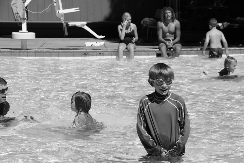 Pool Time-  Curry Village - Yosemite Valley