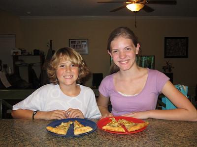 January 12, 2012- Mexican Pizza tonight!!