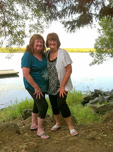 Maryruth and Sue at Rocky Point