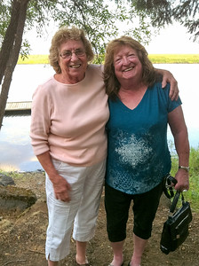 Mo and Maryruth at Rocky Point