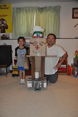 2012-12-27 Dylan's Cardboard Robot