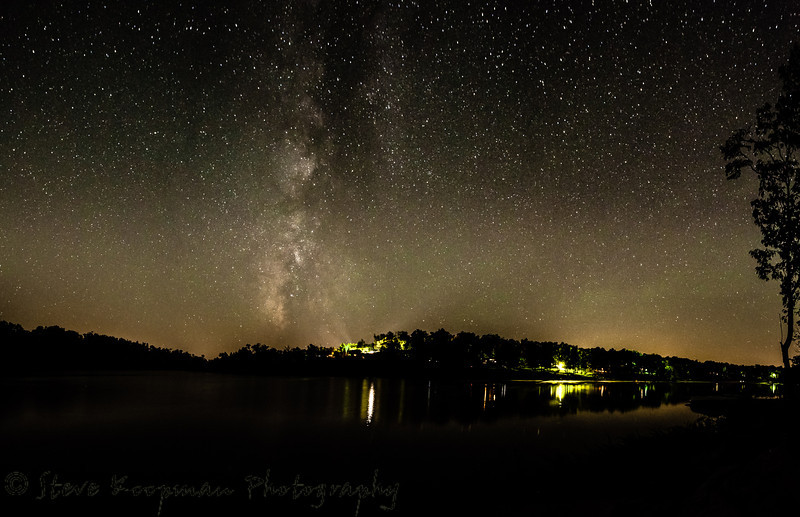 Milky Way at Rough River Lake